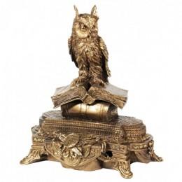 """Декоративная статуэтка """"Сова на книгах"""", выс.42см"""