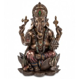 "Статуэтка Veronese ""Ганеш - Бог мудрости и благополучия"" (bronze)"