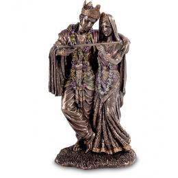 """Статуэтка Veronese """"Кришна и Радха"""" (bronze)"""