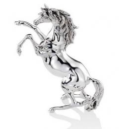 """Cтатуэтка с посеребрением Valenti 17870 """"Вздыбленный Конь"""" 17см"""