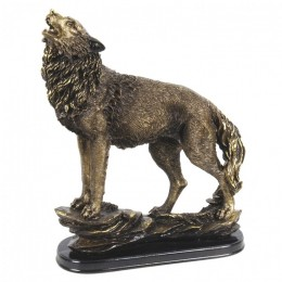 """Декоративная статуэтка """"Диким волк"""", выс.35см"""