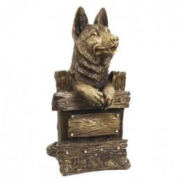 """Декоративная статуэтка """"Любопытный сторож"""", выс.37см"""