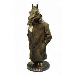 """Скульптура """"Конь в пальто"""""""