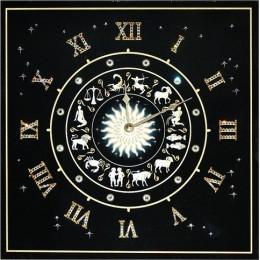 """Настенные часы Сваровски """"Знаки Зодиака"""", 30 х 30 см"""