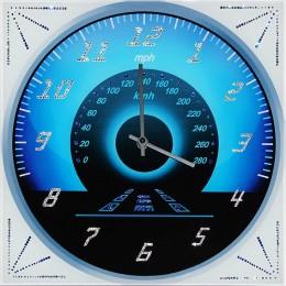 """Настенные часы Swarovski """"Скорость-Время""""(круглые)"""