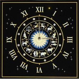 "Настенные часы Swarovski ""Знаки зодиака - 1"""