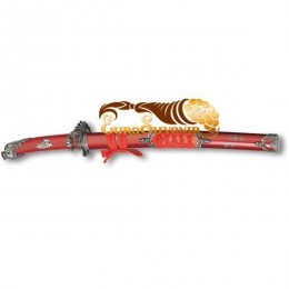 """Вакидзаси - самурайский меч """"Красный Дракон"""""""