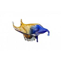 """Декоративная стеклянная ваза """"Carmen"""", выс.25см"""