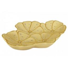 """Декоративное керамическое блюдо """"Golden Daisy"""""""
