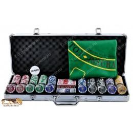 """Покерный набор """"Nuts-500"""" фишки 11,5гр 500шт"""