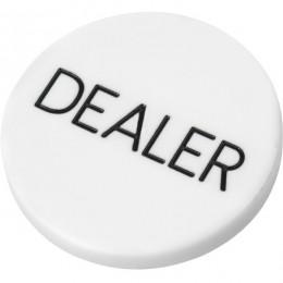Кнопка Dealer для покера стандартная, 5 см