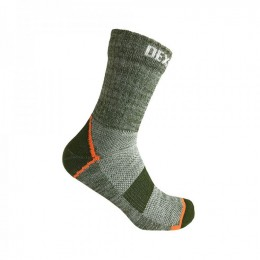 Водонепроницаемые носки DexShell Terrain Walking Ankle Socks, DS848HPG (размер L)