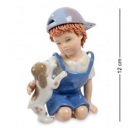 """CMS-12/14 Фигурка """"Мальчик с собачкой"""" (Pavone)"""