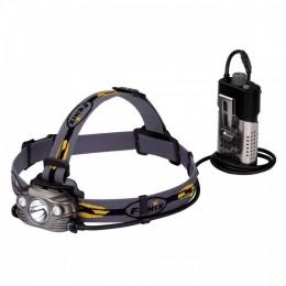 Налобный фонарь Fenix HP30R Cree XM-L2, XP-G2 (R5) (серый, черный) (серый)
