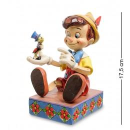 """Disney-4043647 Фигурка """"Пиноккио и сверчок (Свисти - не грусти!)"""""""