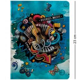 """BM-01/1 Блокнот бол. """"Звуки музыки"""" (3D твердая обложка)"""
