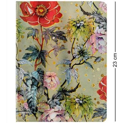 """BM-02/1 Блокнот бол. """"Весенние цветы"""" (3D твердая обложка)"""