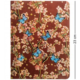 """BM-02/3 Блокнот бол. """"Весенние цветы"""" (3D твердая обложка)"""