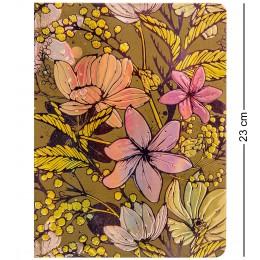 """BM-02/4 Блокнот бол. """"Весенние цветы"""" (3D твердая обложка)"""