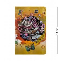 """BM-09/4 Блокнот мал. """"Звуки музыки"""" (3D твердая обложка)"""