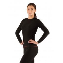 Футболка  женская Lasting Atala, черная (размер L-XL)