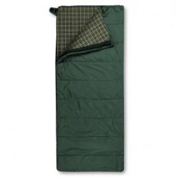 Спальный мешок Trimm Comfort Tramp, 185 R (зеленый, камуфляж, синий) (зеленый)