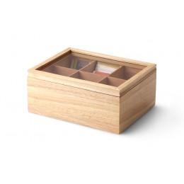 Ящик для хранения чайных пакетиков Continenta, цвет натуральный