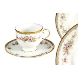 Набор: чашка с блюдцем Наслаждение