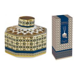 Диффузор (синий) Сияние Лаунж с палочками в подарочной упаковке