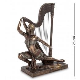 """WS-448 Статуэтка """"Египтянка с арфой"""""""
