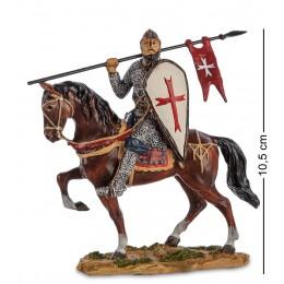 "WS-818 Статуэтка ""Конный рыцарь крестоносец"""