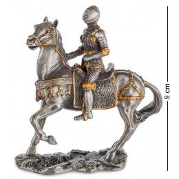 """WS-822 Статуэтка """"Средневековый воин на коне"""""""