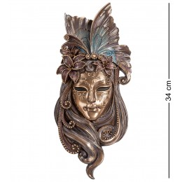 """WS-319 Венецианская маска """"Лилия"""""""