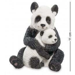 "WS-697 Статуэтка ""Панда с детенышем"""