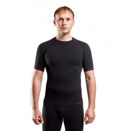 Футболка мужская Lasting Abel, черная (размер L-XL)