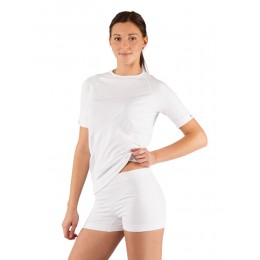 Футболка женская Lasting Alba, белая (размер L-XL)
