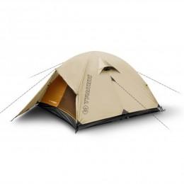 Палатка Trimm Trekking FRONTIER, песочный 2+1